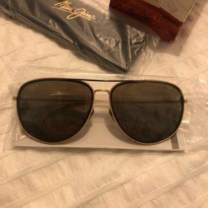 Maui Jim Sunglasses - Fair Winds Gold Matte
